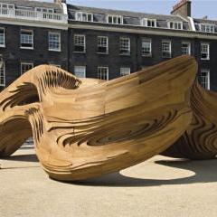 'Driftwood' pavilion by Danecia Sibingo