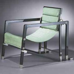 fauteuil 39 transat 39 by eileen gray detnk. Black Bedroom Furniture Sets. Home Design Ideas
