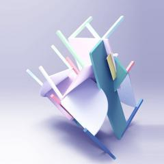 Arms Up Chair Series  by Herald Ureña