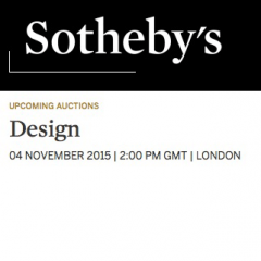 20th Century Design at Sotheby's London