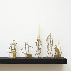 Fabien Cappello, Drawn Candlesticks, 2012