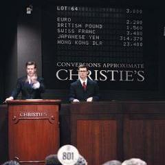 Christies announces 2010 a 'Record Year'