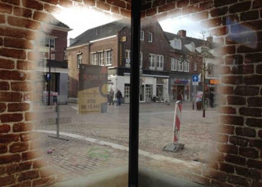Glass Farmhouse Trompe L'oeil by MVRDV