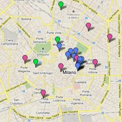 Milan Design Map 2011