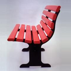 Kenneth Grange, Adshel bench 1972