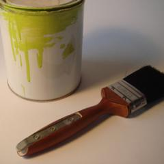 Jon Harrison, Dual Purpose, Paintbrush with inserted attachment for opening tins of paint