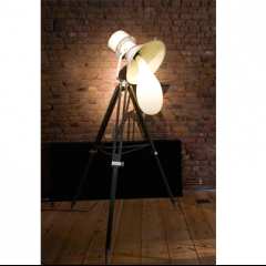 """Tripod"" light blub lamp by Pieke Bergmans, 2009"