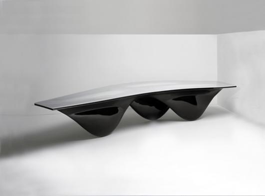 Aqua Table by Zaha Hadid for Established & Sons