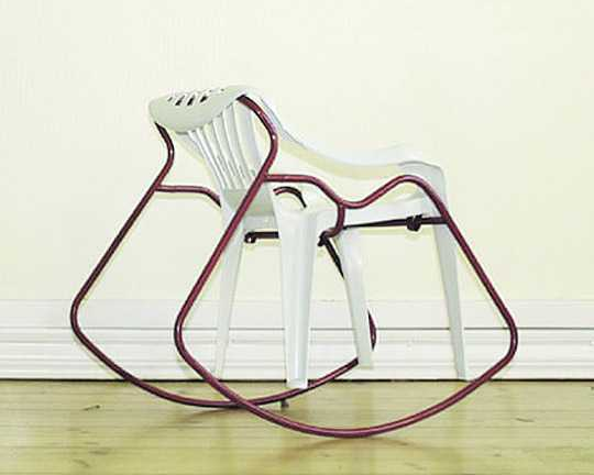 'Rocking Chair' by Rebecca Halstedt, seen at the Stockholm Furniture Fair, 2004