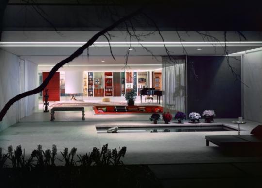 Eero Saarinen, Miller House, Columbus, Indiana - circa 1957 Photographer Ezra Stoller ©Ezra Stoller/ESTO