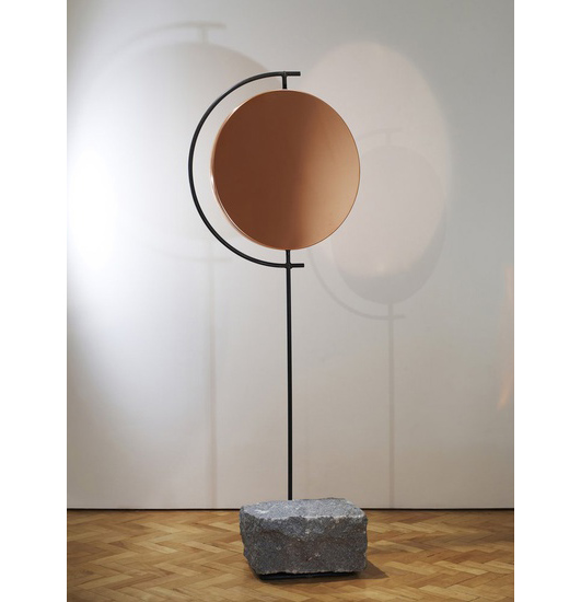 HUNTING & NARUD The Copper Mirror Series, Medium, 2013 Copper, steel, granite 183 H x 67 W x 40 D cms