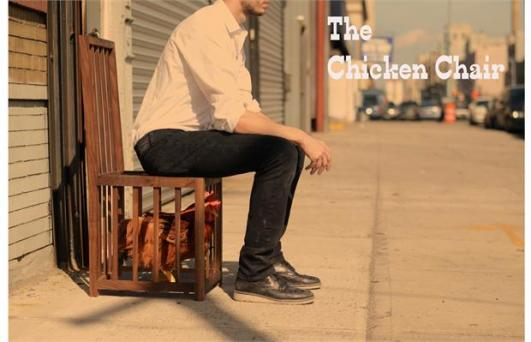 The Chicken Chair by Sebastian Errazuriz at Casa Lin