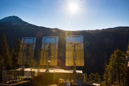 Giant Mirrors Brings Norwegian Town Out of the Dark