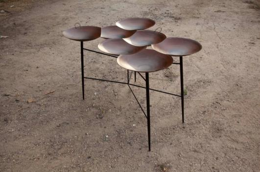 Saj Tables by Noam Dover and Yoav Reches