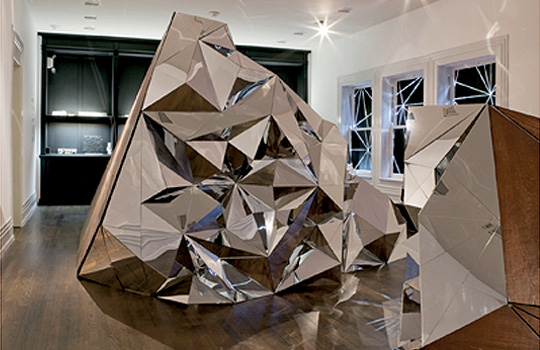 Cecil Balmond: Solid Void - Photo: Michelle litvin, Courtesy of Cecil Balmond and the Graham Foundation for Advanced Studies in the Fine Arts