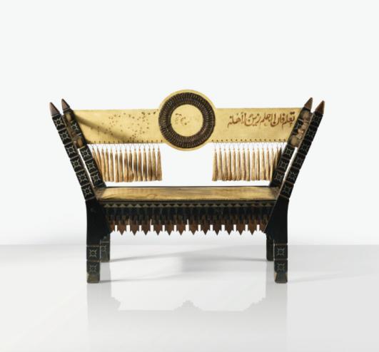 CARLO BUGATTI BANC, VERS 1900 [Estimate  10,000 — 15,000  EUR]