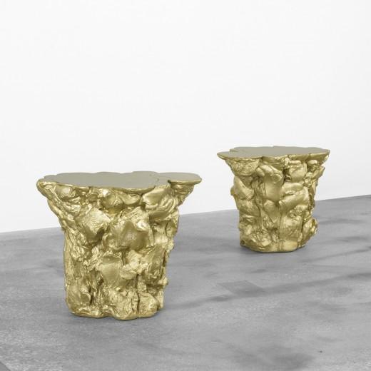 Gold Stools by Fredrickson Stallard