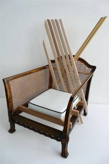 'Another Chair' (Cane Chair) by Karen Ryan, 2008