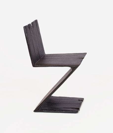 Maarten Bass, 'Where theres smoke' Chair (2004). Estimated at $3,500 - 5,500, sold for $18,750
