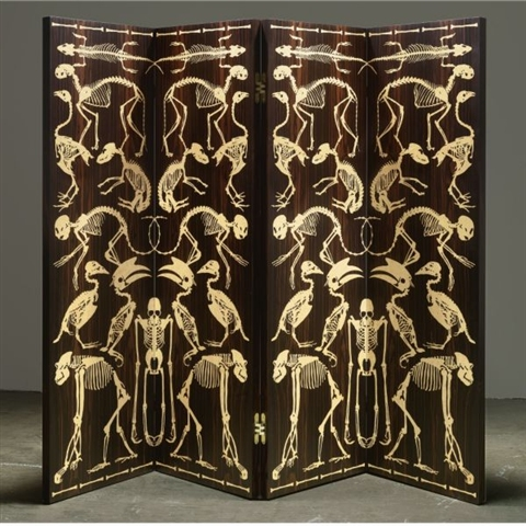 Studio Job, Four Panel Screen, 2006, estimated at $50,000 - 70,000, sold for $62,500