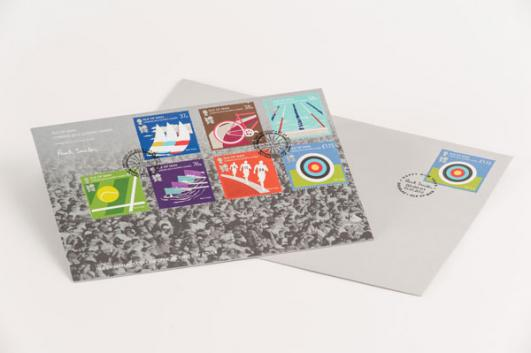 Isle of Man, London 2012 Olympic Games Stamps designed by Paul Smith added by Sir Paul Smith [image: Dominic French]