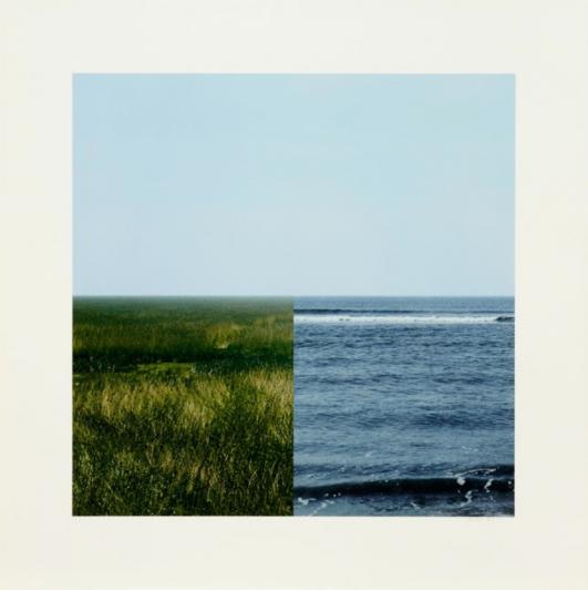 Land-Sea Horizon 3, 2011 by Jan Dibbets. Courtesy the artist and Alan Cristea Gallery