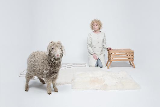 """Project 'HuisRaad' (Furniture), object 'WarmteWeefsels"""" by Studio Makkink & Bey"""