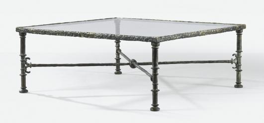 DIEGO GIACOMETTI TABLE GRECQUE, VERS 1965 Estimate   150,000 — 200,000 Lot Sold   399,000 EUR