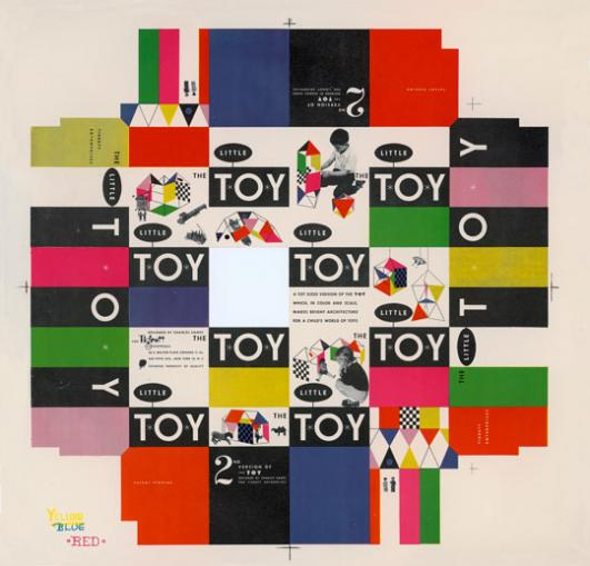 Little Toy box cover, 1952