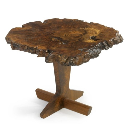 'Odakyu table' by George Nakashima, 1989, estimated at $25,000 - 35,000, sold for $46,875