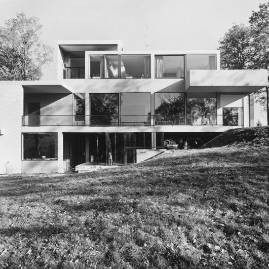 Van Slobbe House, (Heerlen), Gerrit Rietveld 1961-63 © VG Bild-Kunst, Bonn 2012, Photo: Ton Roelofsma/ Collection Rietveld Schröder Archive, Utrecht