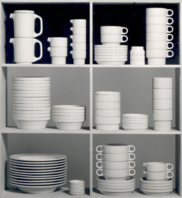 Stackable tableware TC 100 by Hans (Nick) Roericht