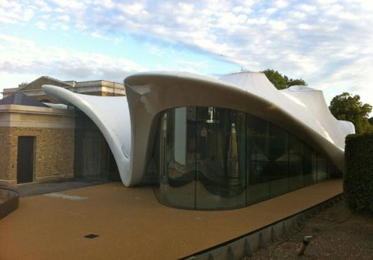 Serpentine Gallery's 'sinuous and sensual' £14.5m expansion opens