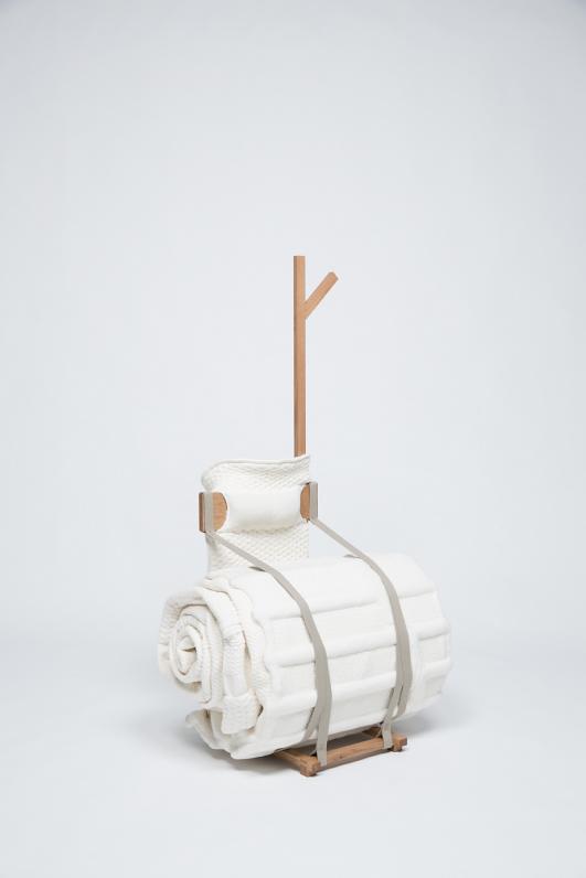 "Project 'HuisRaad' (Furniture), object 'VouwPlaats"" by Studio Makkink & Bey"