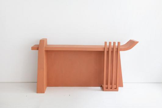 LIFE ON EARTH, 2018 TERRACOTTA CONSOLE COMPOSITE MATERIAL By Rooms