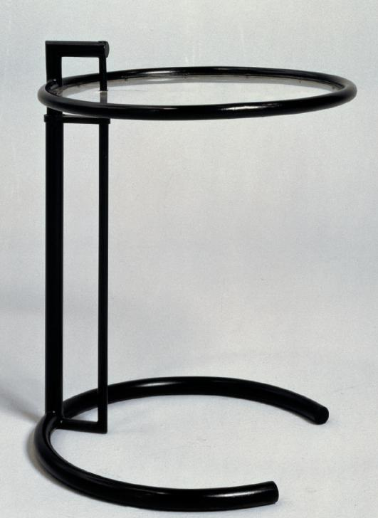 Adjustable table, circa 1926-1929 by Eileen Gray
