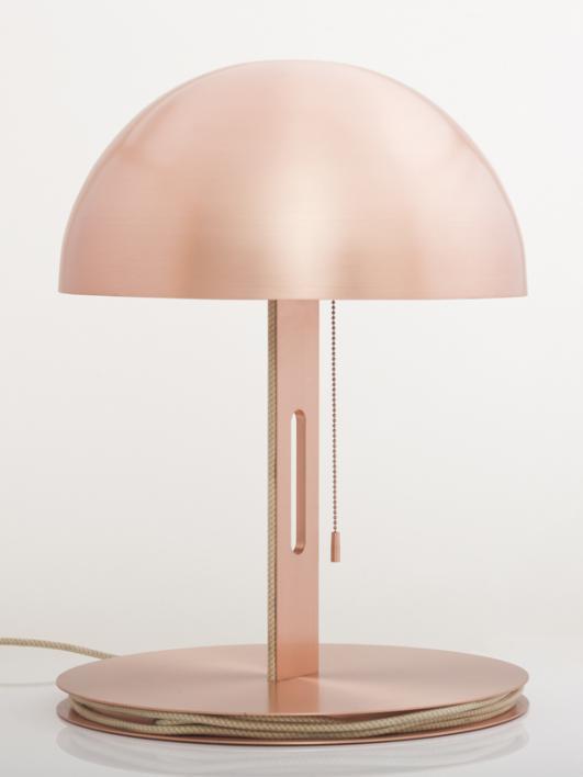 Hiroshima copper by Karen Chekerdjian