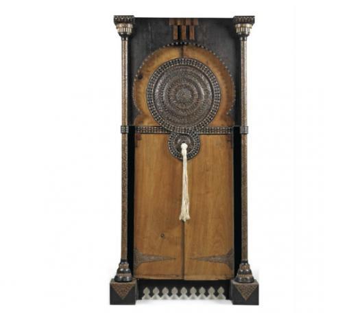CARLO BUGATTI (1856-1940) PAIR OF DOORS, CIRCA 1900