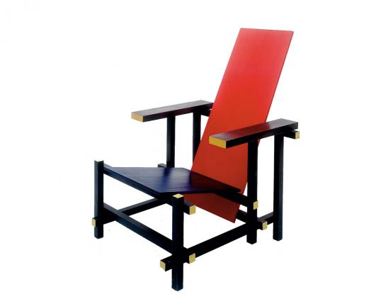 Red-Blue Chair, Gerrit Rietveld, 1918/1923 © VG Bild-Kunst, Bonn 2012