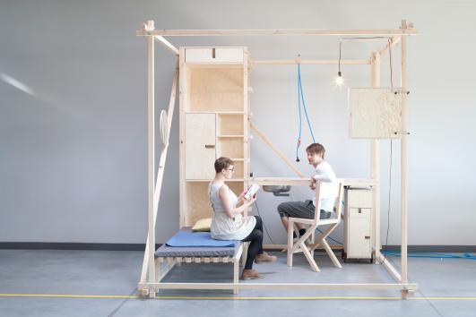 Ania Rosinke and Maciej Chmara (chmara.rosinke), 2,5³, 2013