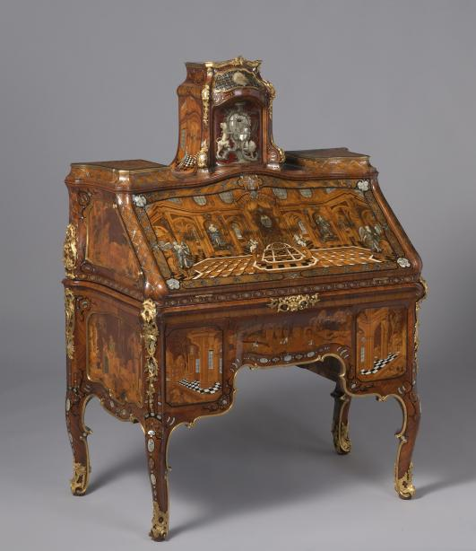 Writing Desk by Abraham Roentgen