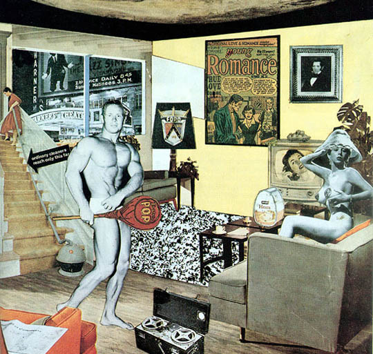 'Just What Is It That Makes Today's Homes So Different, So Appealing?' by Richard Hamilton, 1956, private collection