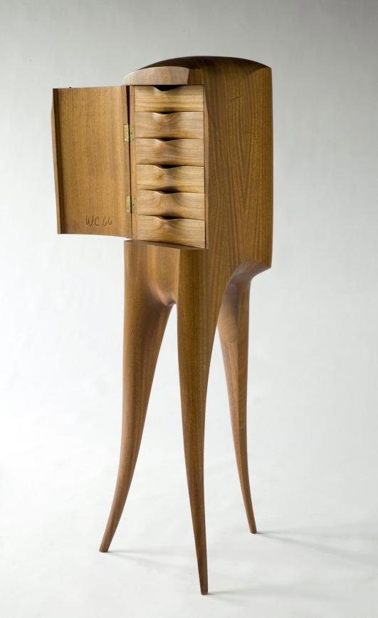 Chest of Drawers Designed and made by Wendell Castle, Rochester, New York, 1969.