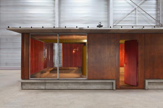 Jean prouv maison m tropole aluminium presented by - Maison demontable jean prouve ...