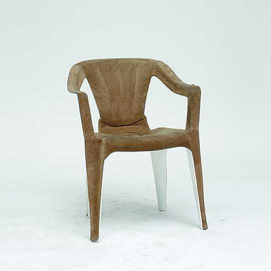 'Mono Suede' by Martino Gamper, as part of the A 100 Chairs in 100 Days Exhibition, 2007
