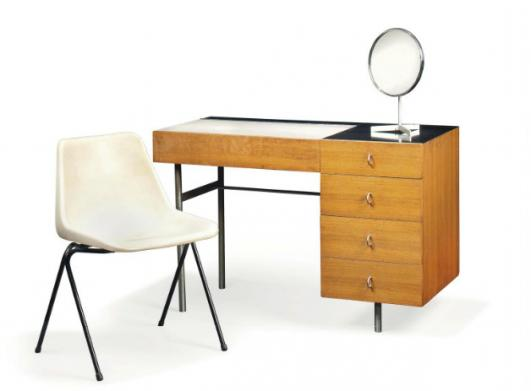 ROBIN DAY (1915-2010) DRESSING CHEST AND 'POLYPROP' CHAIR, DESIGNED 1960 AND 1963 Estimate: £1,500 - £2,000