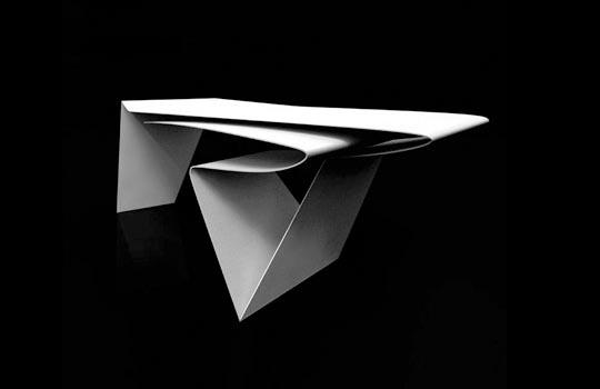 Line Desk by Philip Michael Wolfson