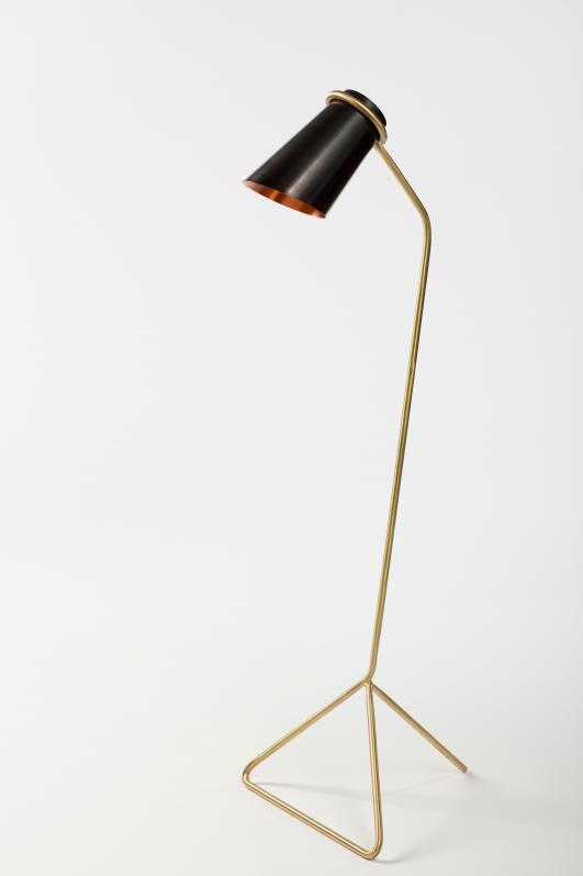 'Leaded Strand Lamp/Tall' by Andrew Clancy [photo: Peter Rowen Photography]