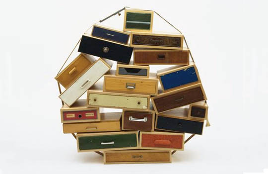 """You Can't Lay Down Your Memories"" Chest of Drawers by Tejo Remy"