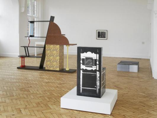 Installation view of Simon Martin: UR Feeling at Camden Arts Centre, 2012. Photo: Andy Keate